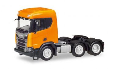 Herpa 309028-002 Scania CR XT ND Bau-SZM (3a) orange