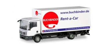 Herpa 310598 MAN TGL Koffer-LKW m.Ladew.Buchbinder