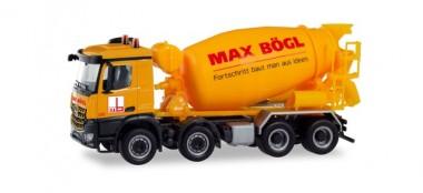 Herpa 311465 MB Arocs S Betonmischer Max Bögl
