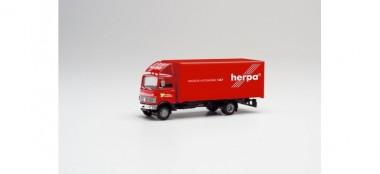 Herpa 311755 MB 813 Koffer-Lkw Herpa Motorsport 1989