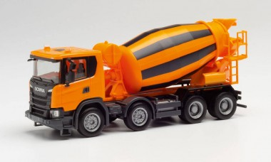 Herpa 312424 Scania CG17 Betonmischer-lkw (4a) orange