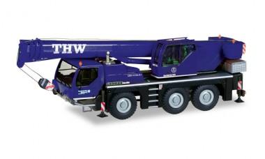 Herpa 312646 Liebherr Mobilkran LTM 1045 THW