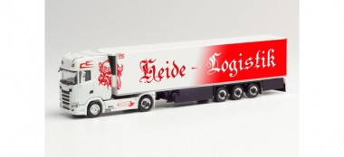 Herpa 312950 Scania CS20 HD Kühl-KSZ Heide Logistik