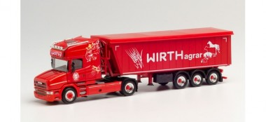 Herpa 313018 Scania Hauber TL Stöffelliner-SZ Wirth
