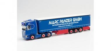 Herpa 313247 Scania CS20 HD GP-SZ Marc Panzer Transp.