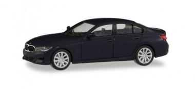 Herpa 420518 BMW 3er Lim. schwarz
