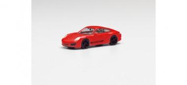 Herpa 420563 Porsche 911 Carrera 4S Coupe indischrot