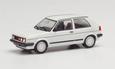 Herpa 420846 VW Golf GTl mit Sportfelgen, weiß
