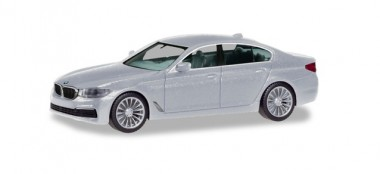 Herpa 430692-002 BMW 5er Lim. glaciersilber-met.