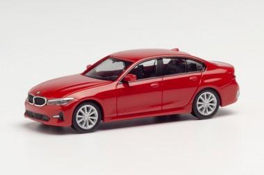 Herpa 430791 BMW 3er Lim. Melbourne rot met.