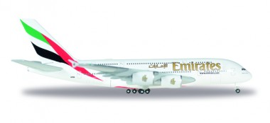 Herpa 514521-004 Airbus A380-800 Emirates