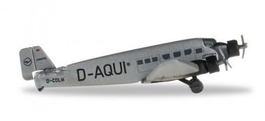 Herpa 516709 Junkers JU-52 LH Lufthansa D-AQUI