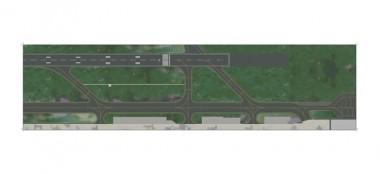 Herpa 520676 Folie III Start und Landebahn
