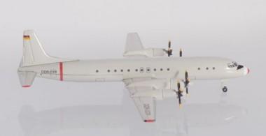 Herpa 533331 Ilyushin IL-18 Interflug Technische Prüf