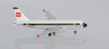 Herpa 533492 Airbus A319 British Airways 10th Anniv.