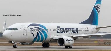 Herpa 533546 Boeing 737-800 Egyptair SU-GEJ