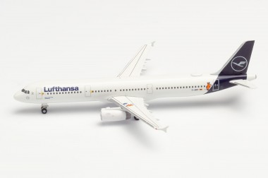 Herpa 533621 Airbus A321 LH Luftansa/Die Maus