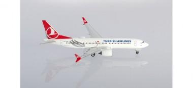 Herpa 533768 Boeing 737-MAX8 Turkish Airlines