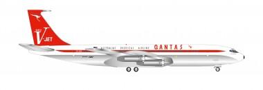 Herpa 534154 Boeing 707-320C V-Jet Quantas