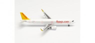 Herpa 534161 Airbus A321neo Pegasus Airlines