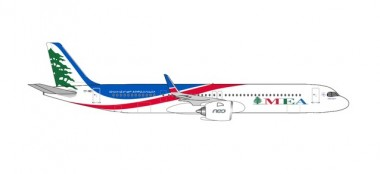 Herpa 534949 Airbus A321neo MEA - Middle East Airline