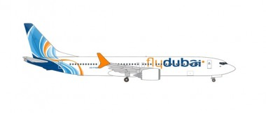Herpa 535076 Boeing 737 Max 9 Fly Dubai