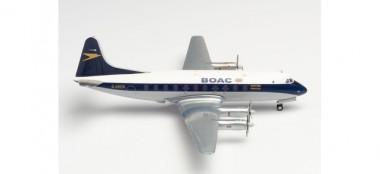 Herpa 570817 Vickers Viscount 700 BOAC