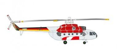 Herpa 571197 Mil Mi-8TB German Army