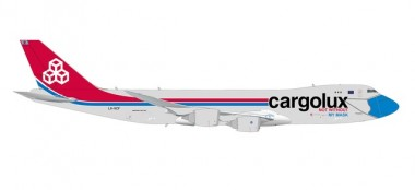 Herpa 571272 Boeing 747-8F Cargolux Not Without My...