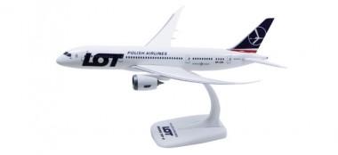 Herpa 609494 Boeing 787-8 Dreamliner LOT Polish