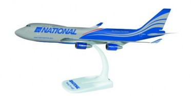 Herpa 610445 Boeing 747-400F National Airlines Cargo