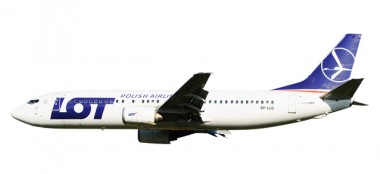 Herpa 610612 Boeing 737-400 LOT Polish Airlines
