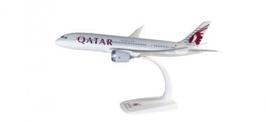 Herpa 610896 Boeing 787-8 Dreamliner Qatar