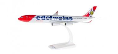 Herpa 611336 Airbus A340-300 Edelweiss Air
