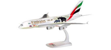 Herpa 612180 Airbus A380 Emirates United for Wildlife