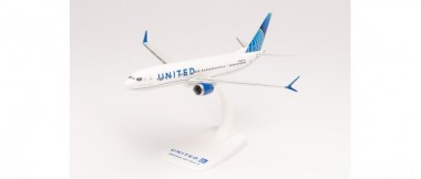 Herpa 613149 Boeing 737 Max 9 United Airlines