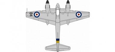 Oxford Aviation 8172HOR005 Hornet DH Hornet F3 National Air Races