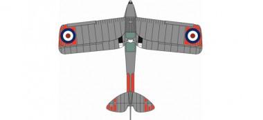 Oxford Aviation 8172TM008 De Havilland DH Tiger Moth XL 714 HMS