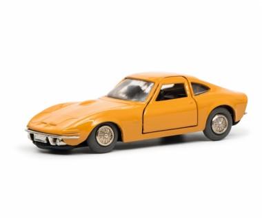 Schuco 450176300 Micro Racer: Opel GT orange