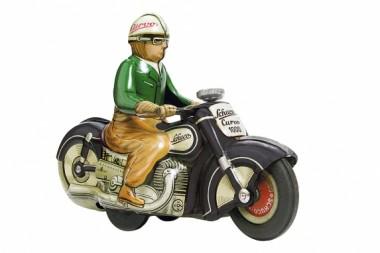 Schuco 450198200 Motorrad Curvo schwarz