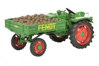 Schuco 450262800 Fendt Geräteträger GT mit Kartoffeln