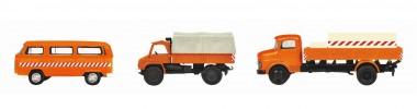 Schuco 452655600 3er-Set Kommunalfahrzeuge