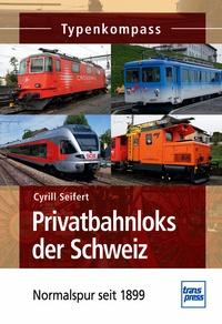 Transpress 71489 Privatbahnloks der Schweiz - Normalspur