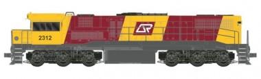Southern Rail Q230.2H0 QR Diesellok 2300 Class Ep.4