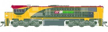 Southern Rail Q233.1H0 QR National Diesellok 2300 Class Ep.6