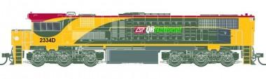 Southern Rail Q233H0 QR National Diesellok 2300 Class Ep.6