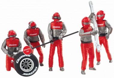 Carrera 21131 Figurensatz Mechaniker rot