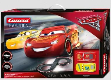 Carrera 25226 Evolution Startset Disney Cars 3