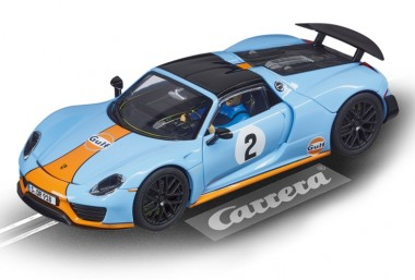Carrera 27549 Evolution Porsche 918 Spyder Gulf Racing