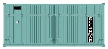 Sudexpress S6008 Socarmar 20' Container